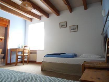 Bleue Zimmer Twin oder Doppelzimmer